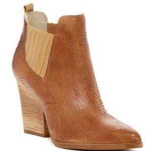 Donald J. Pliner Vale Snakeskin Ankle Boot
